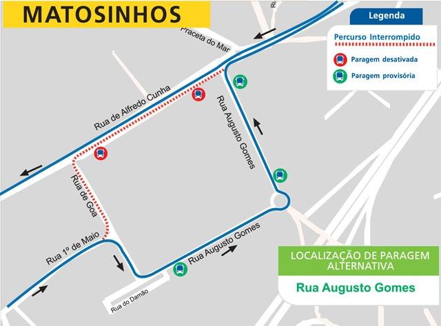 Linha 505 - Rua Alfredo Cunha