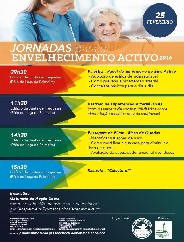 Cartaz Jornadas para o Envelhecimento Activo