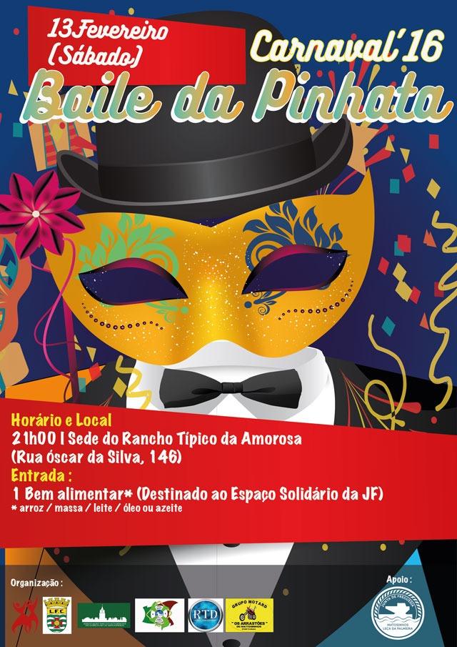 Cartaz Baile da Pinhata