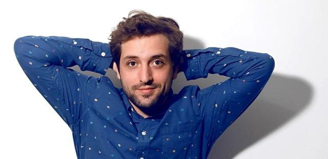 Gregório Duvidier ator na série humorística Porta dos Fundos
