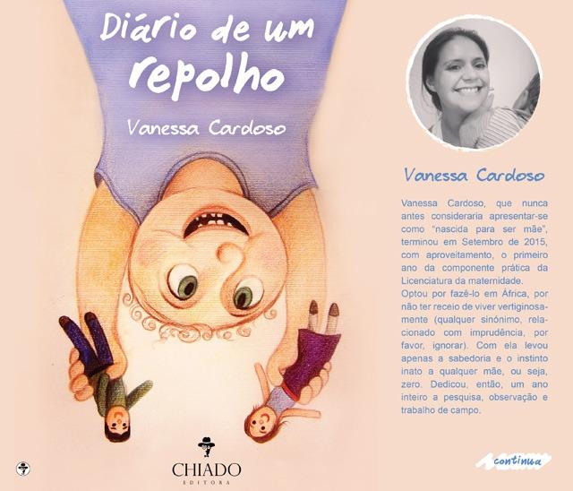 """Vanessa Cardoso apresenta a obra """"Diário de Um Repolho"""""""