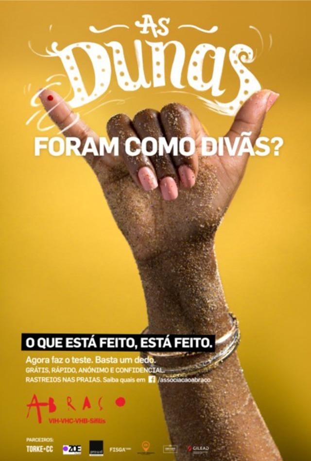 Cartaz VIH/SIDA