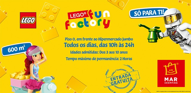 Lego Fun Factory MAR Shopping