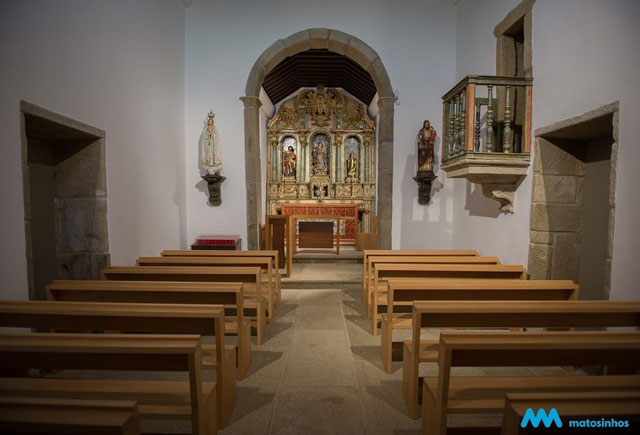 Interior Capela da Boa Nova