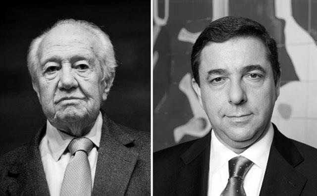 Mário Soares e Guilherme Pinto