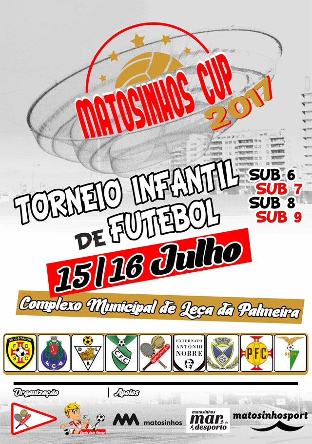 Cartaz MATOSINHOS CUP 2017