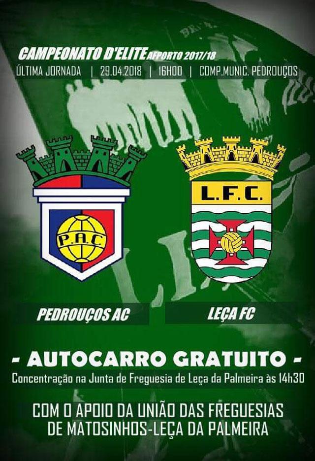 Autocarro para o Pedrouços-Leça FC