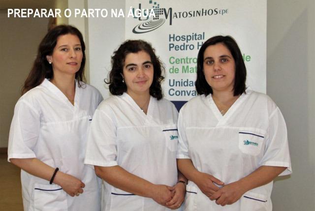 Preparação para o parto em meio aquático já é possível em Matosinhos