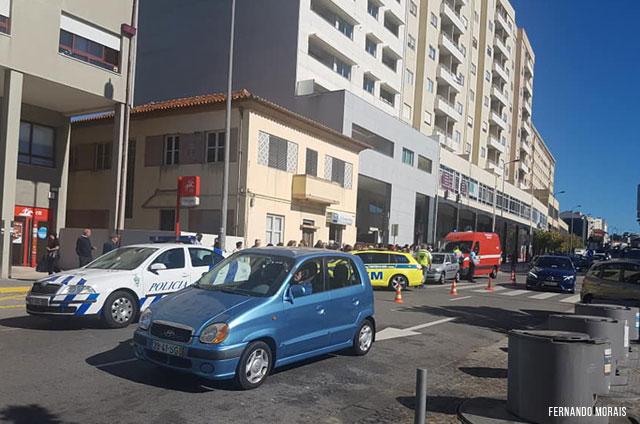 Local do atropelamento - Rua Alfredo Cunha