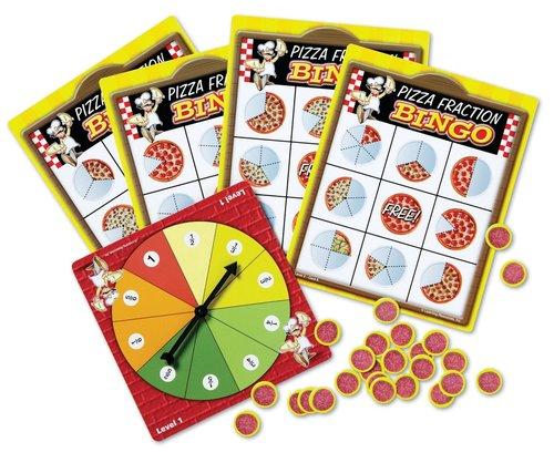 Des jeux éducatifs pour les fractions