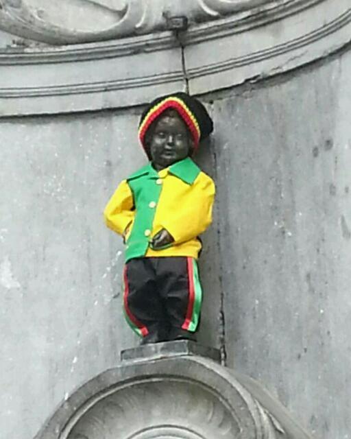Bruxelles, ville de tintin… Et les autres.