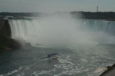 Journée exténuante à Niagara !
