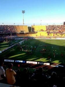 invasione di campo Lecce-carpi 16-6-2013
