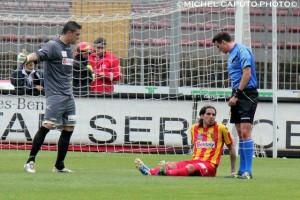 Lopez infortunio vs Frosinone