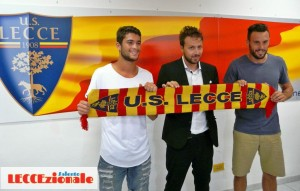 Antonio Tesoro, Mannini e Filipe Gomes