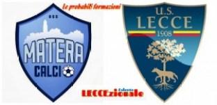 Matera-Lecce probabili formazioni