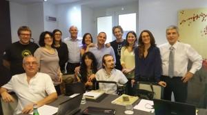 delegazione Lecce2019 a Roma