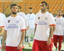 Lecce Cosenza ingresso in campo