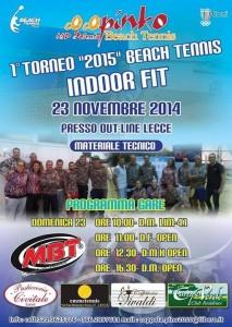 beach tennis torneo indoor