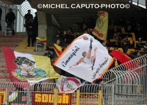 """Tifosi del Benevento al """"Via del Mare"""""""