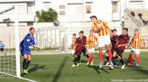 Il gol del pari firmato da Cuppone