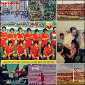 collage Lecce in Serie A trentennale