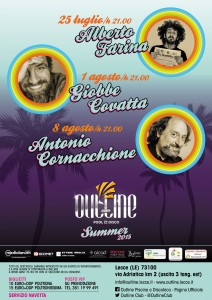 "locandina Outline ""Summer cabaret"""