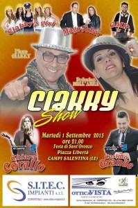 ciakky show campi salentina