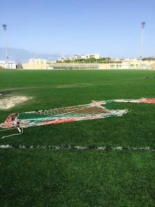 atti vandalici stadio Bianco Gallipoli 5