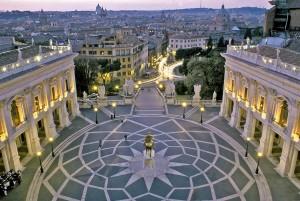 ROMA : PIAZZA DEL CAMPIDOGLIO FOTO DI © REMO CASILLI/SINTESI ROME - CAMPIDOGLIO SQUARE