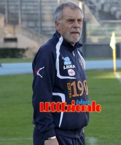 Piero Braglia in tuta a Cosenza