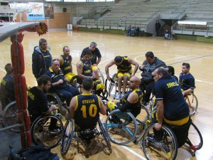 Lupiae Team Salento Inail Basket in carrozzina