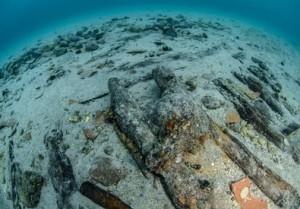 relitto nave Porto Cesareo