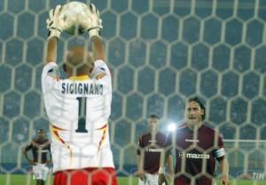 sicignano rigore Totti