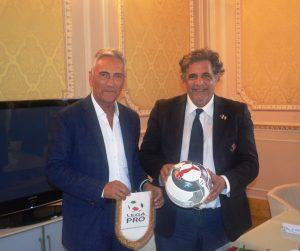 Gabriele Gravina e Sebastiano Rizzo