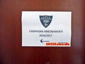 sede U.S. Lecce indicazioni abbonamenti