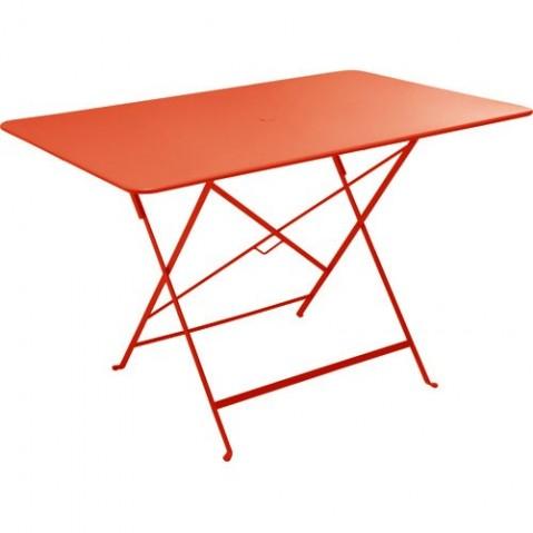 table rectangulaire 117 x 77 cm bistro de fermob capucine