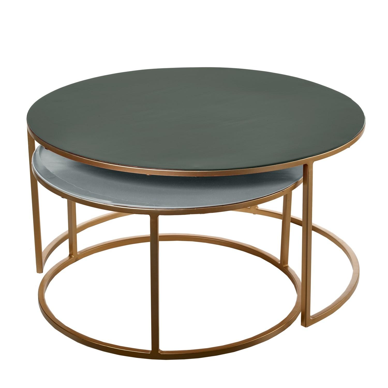 Set table basse gigogne AMALIA de Pols Potten 2 coloris