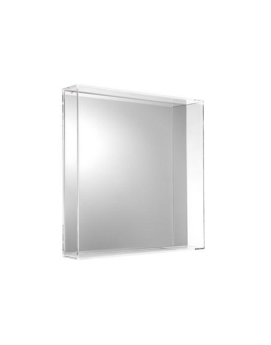 Miroir Only Me De Kartell Cristal L 50 X H 50 X P 9