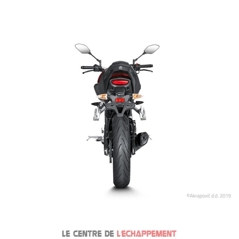 Ligne Complète AKRAPOVIC Racing Line Yamaha MT 125 2017
