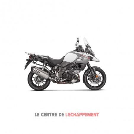 Silencieux AKRAPOVIC Slip-On Suzuki DL 1000 V-STROM 2014
