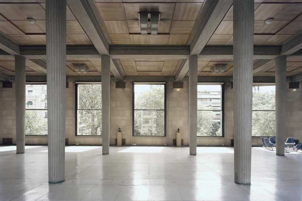Dcouvrez la salle hypostyle du palais dIna lhmicycle et lescalier monumental  CESE