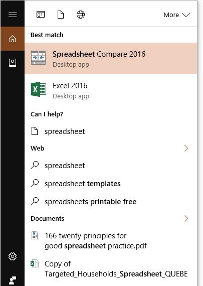 Spreadsheet Compare: Comparer deux fichiers Excel aisément | Le CFO ...