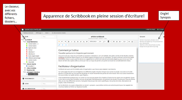 apparence scribbook
