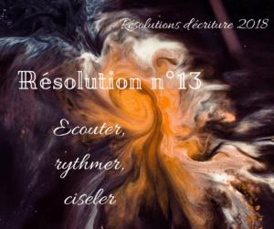 Résolutions d'écriture : travailler le style