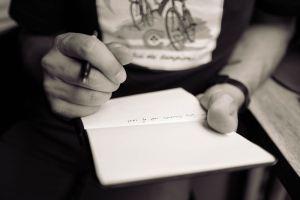stage d'écriture, écrire l'intime