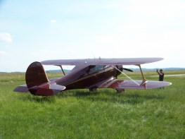 Beechcraft D.17S Staggerwing F-GUZZ 0013