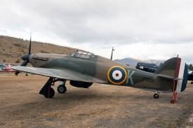 Le Hurricane Mk II P3351 à Wanaka (Nouvelle-Zélande) en 2010. (Photo Paul Nelhams (CC BY-SA 2.0))