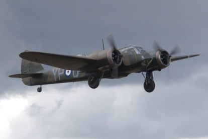 Bristol Blenheim Mk I L6739 G-BPIV - 04 Flying Legends 2015 - 01