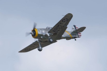Curtiss P-36C (6) Flying Legends 2015